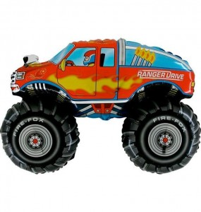 "Balon na patyk 14"" Monster truck"