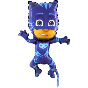 "Balon na patyk 14"" PJMasks Connor Kotboy"
